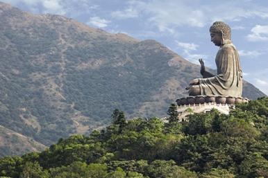 Unterwegs mit Buddha