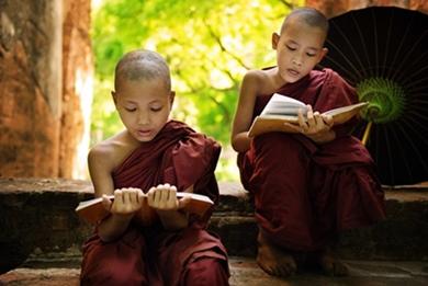 Studieren oder meditieren